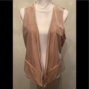 Lauren Conrad velvet vest! So cute! Size 10